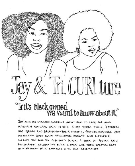 Jay and Tri, CURLture
