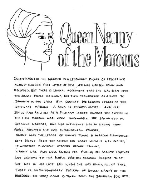 Woman in a head wrap. The text included below the image is in the body of the post.