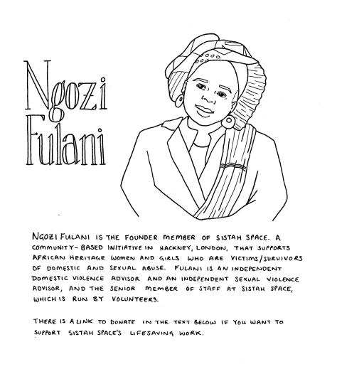 Ngozi Fulani drawing