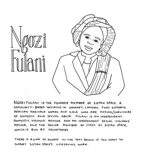 Ngozi Fulani drawing